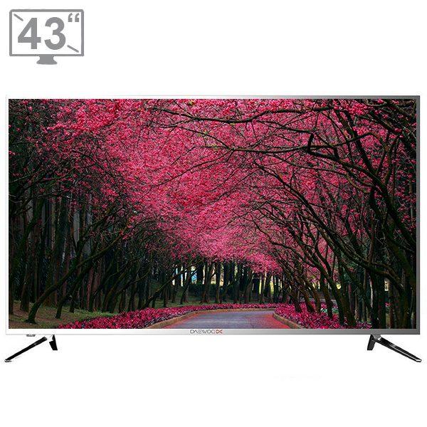 تلویزیون ال ای دی هوشمند دوو مدل DLE-43H5100DPB سایز 43 اینچ