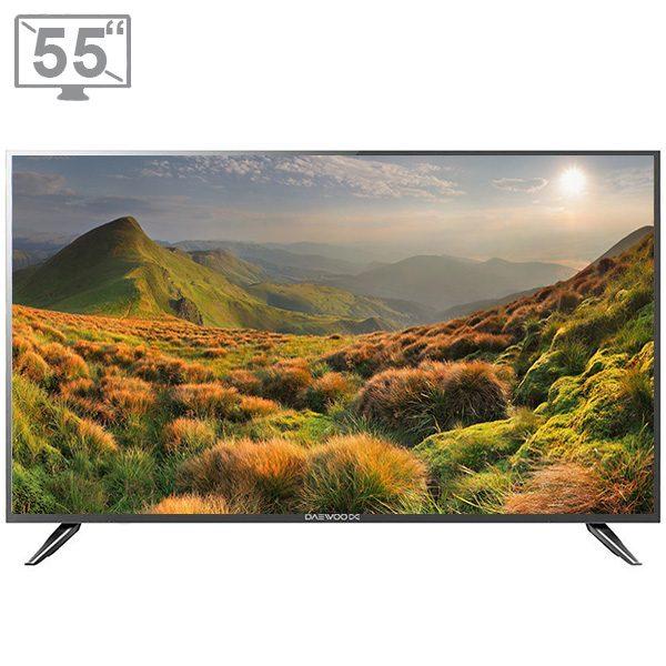 تلویزیون ال ای دی 55 اینج دوو-مدل DLE-55H1800-DPB فول HD