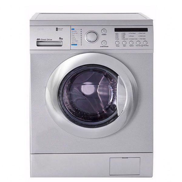ماشین لباسشویی دوو مدل DWK-8210 ظرفیت 8 کیلوگرم
