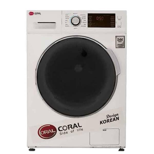ماشین لباسشویی 9 کیلویی کرال مدل Coral 14904