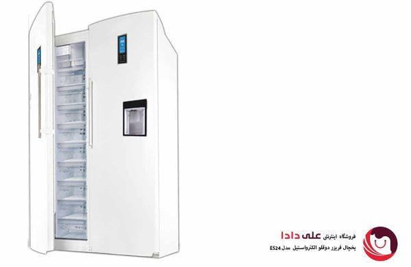خرید یخچال فریزر دوقلوی الکترواستیل مدل ES24