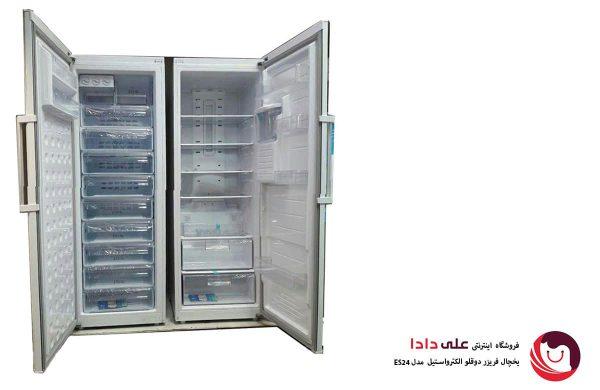 قیمت یخچال فریزر دوقلوی الکترواستیل مدل ES24