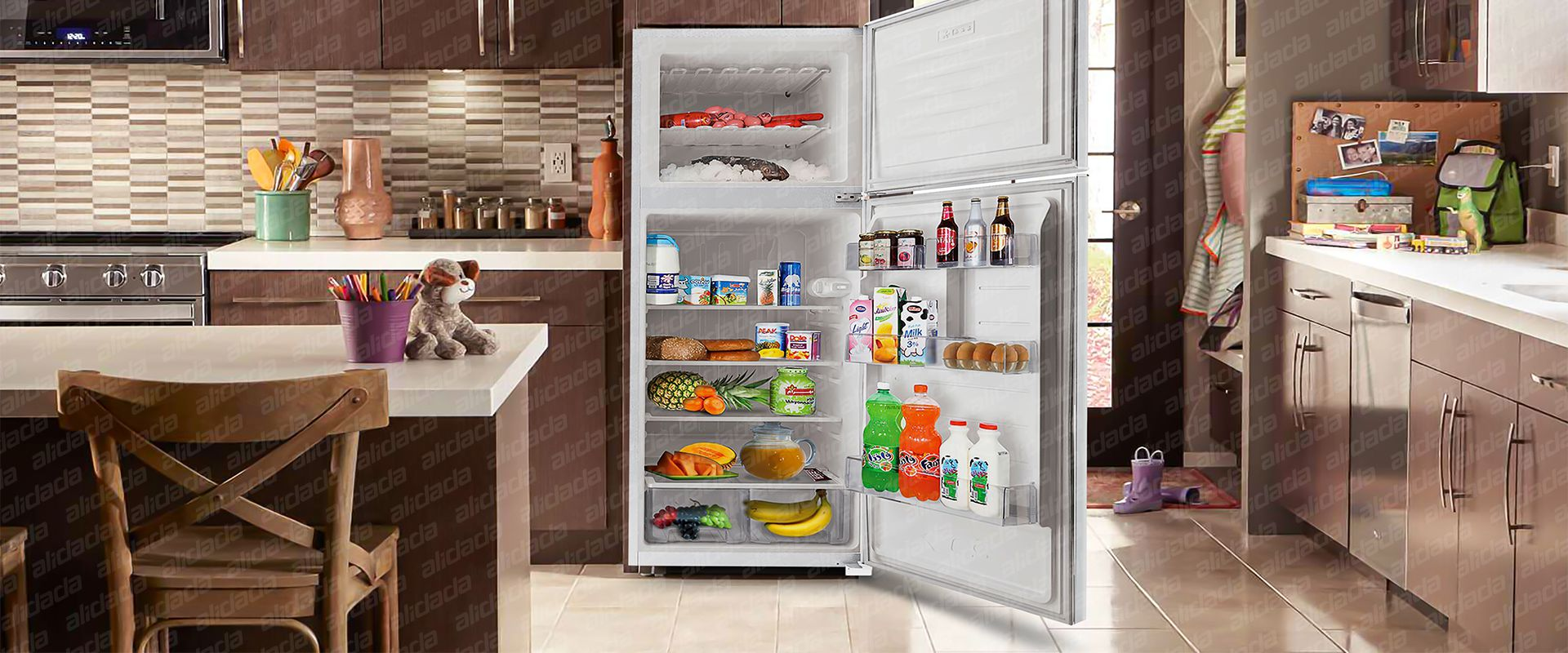 طراحی ظاهری یخچال es14