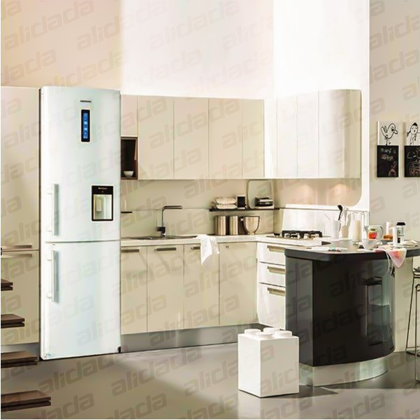 نمای یخچال الکترواستیل مدل ES27 در آشپزخانه