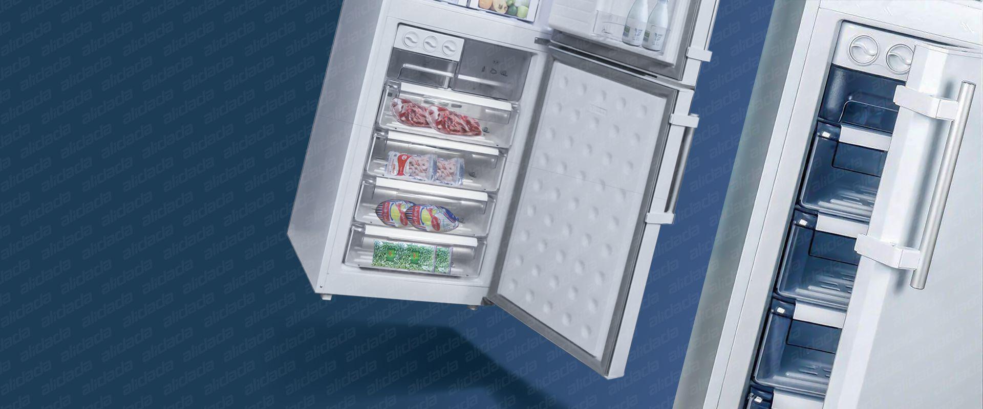 ویژگی های ظاهری یخچال فریزر الکترواستیل مدل ES27 سری استار STAR