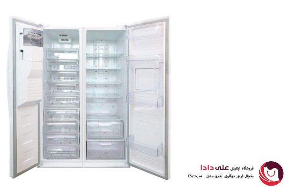 یخچال فریزر دوقلوی الکترواستیل مدل ES23 یخساز اتوماتیک