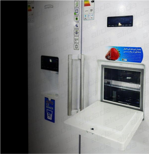 یخچال فریزر دوقلو الکترواستیل مدل Es23 یخساز اتوماتیک سری یونیک UNIQUE