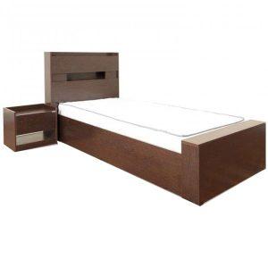تخت خواب تک نفره بدون کشو آدونیس عرض ۹۰