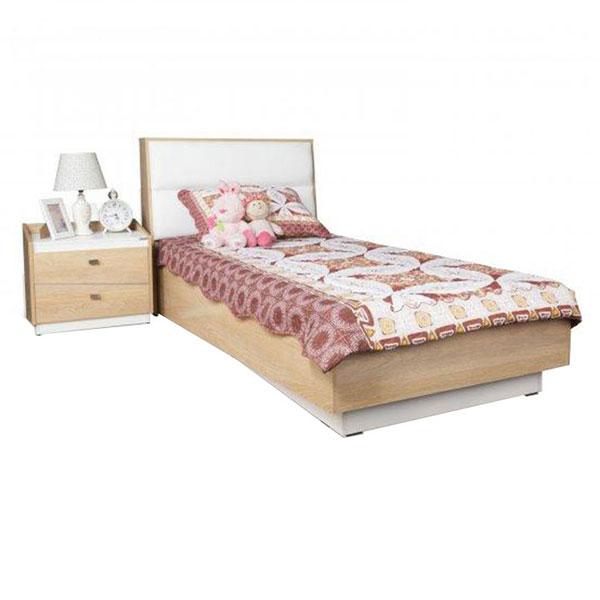 تخت خواب تک نفره ماهور عرض ۹۰