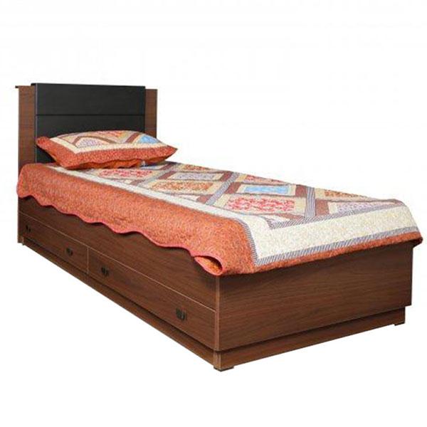 تخت خواب تک نفره کشودار هرمس عرض ۹۰