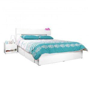 تخت خواب دونفره کشودار آدونیس عرض ۱۴۰