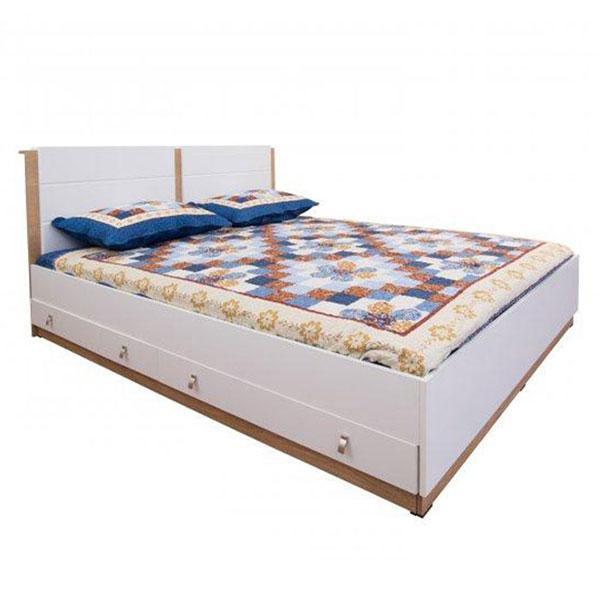تخت خواب دونفره کشودار هرمس عرض ۱۶۰