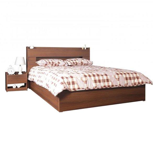 تخت خواب دو نفره بدون کشو آدونیس عرض ۱۶۰