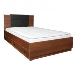 تخت خواب یک و نیم نفره کشودار هرمس عرض۱۲۰