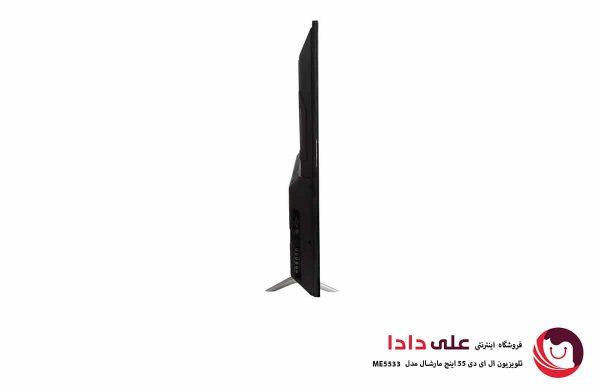 تلویزیون ال ای دی 55 اینچ تلویزیون مارشال مدل ME5533 کیفیت تصویر 4k