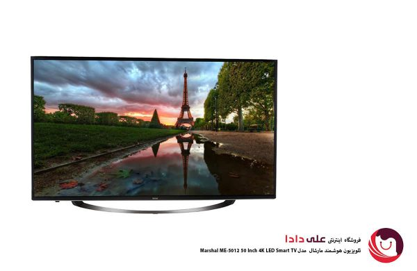 تلویزیون ال ای دی هوشمند ۵۰ اینچ مارشال مدل ME-5012