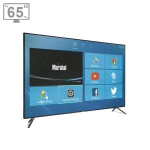 تلویزیون ال ای دی هوشمند 65 اینچ مارشال مدل 4K ME-6505