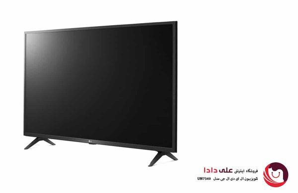 تلویزیون ال ای دی 4K ال جی مدل UM7340 سایز 49 اینچ