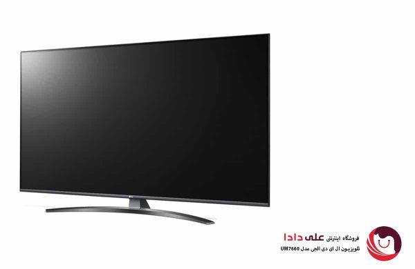 تلویزیون ال ای دی 4K ال جی مدل UM7660 سایز 55 اینچ