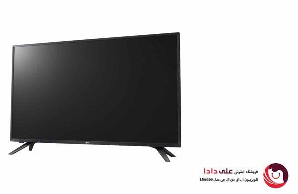 تلویزیون 43 اینچ ال جی مدل LM6300