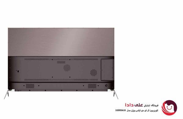 تلویزیون ال ای دی هوشمند ایکس ویژن مدل 55XKU635