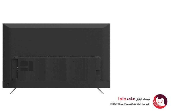 تلویزیون ال ای دی 4k ایکس ویژن مدل 49XTU735