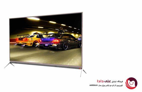 تلویزیون 4k ایکس ویژن مدل 49XKU635