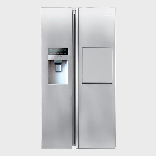 یخچال فریزر ساید بای ساید سری هایپر مدل S8-2322SS رنگ استیل