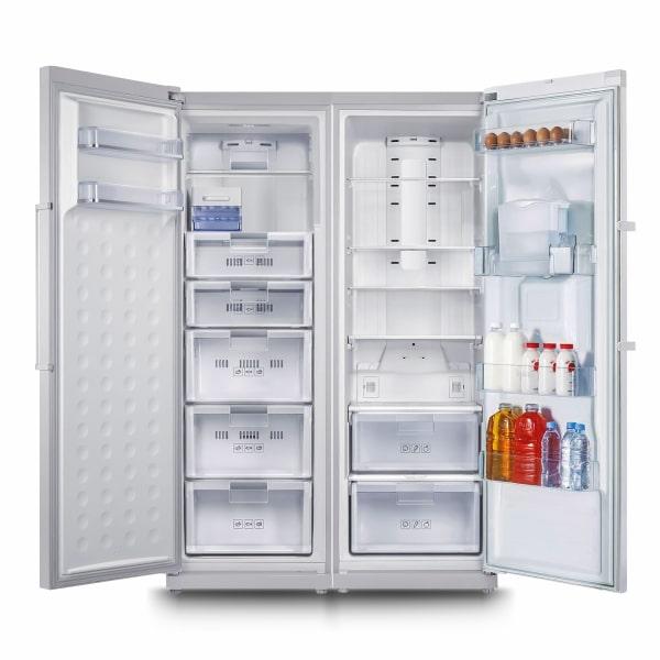 نمای جلو درب باز یخچال اسنوا مدل 0190-6
