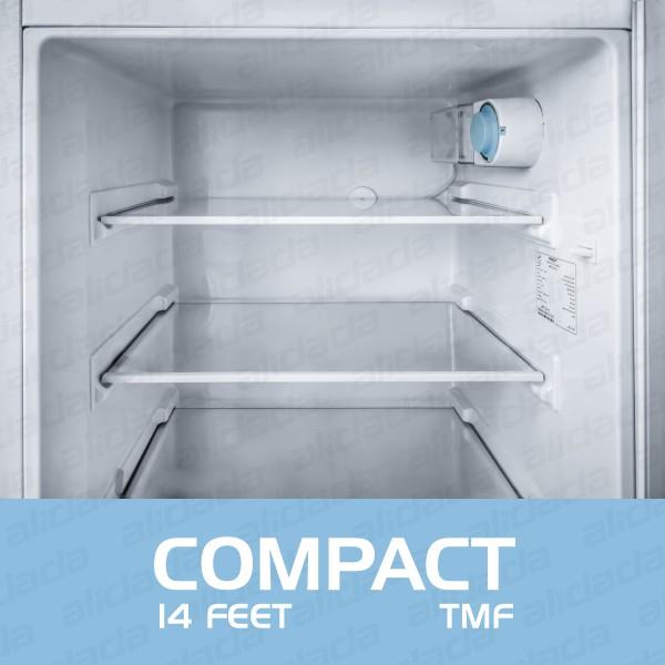 نمای داخلی یخچال فریزر بست مدل compact